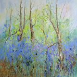 Spring, Forest of Dean 2      Int                        Acrylic, Box canvas 60 x 60cm