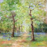 Spring, The Links, Westonbirt ws oil sold