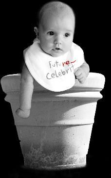 Baby in a pot
