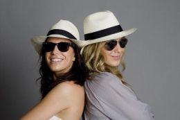 Sisters having fun