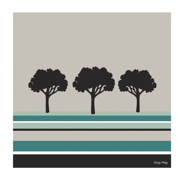 Stripy Trees (vardo blue)