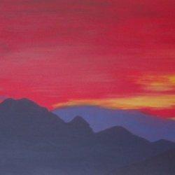 Blaven Sunset