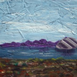 Glass mountain - SOLD