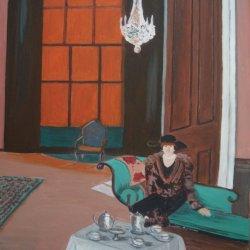 Orange Blind (after Francis Cadell)