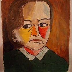 Self portrait à la Picasso
