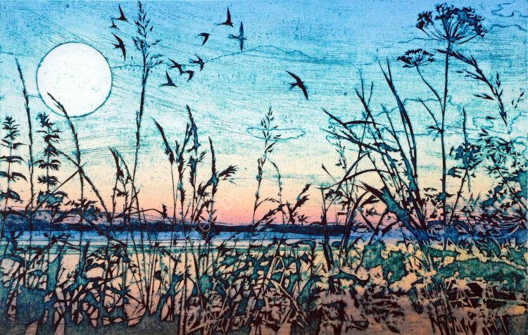 Blue moon, Loch Fleet 2