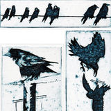 Corvids miniature prints
