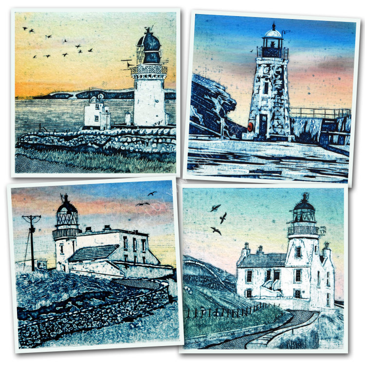 Four more northern lighthouses