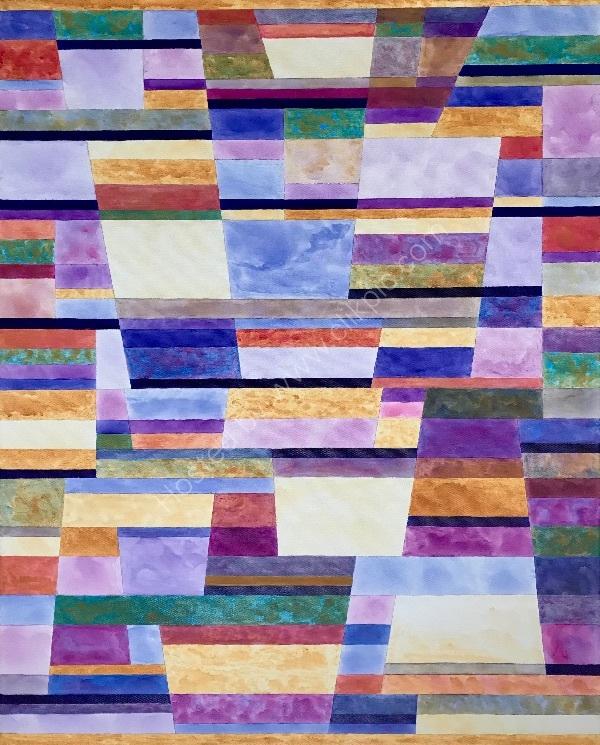Colour, Line & Form Composition No.1