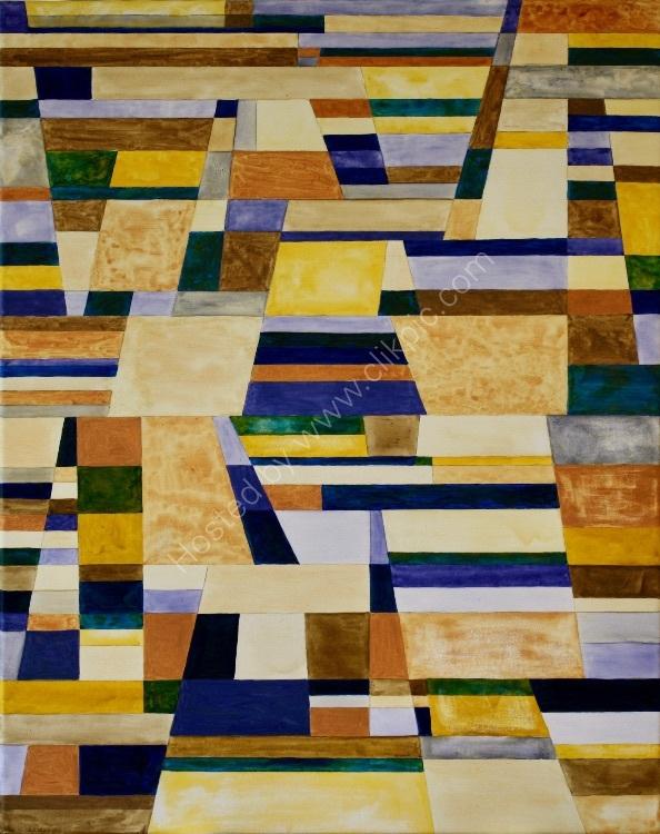 Colour, Line & Form Composition No.3