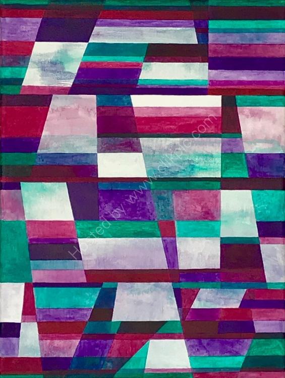 Colour, Line & Form Composition No.4