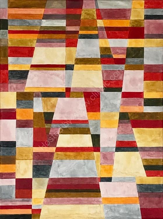 Colour, Line & Form Composition No.5