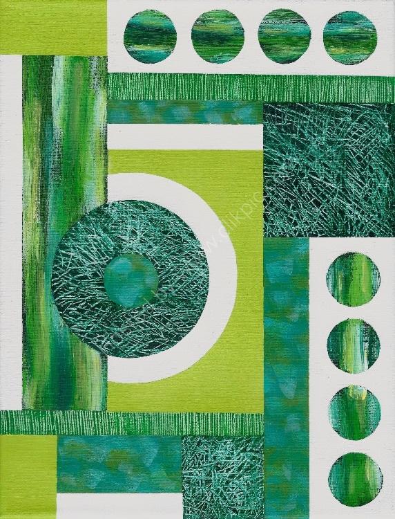 Mini Textural Elements No.3