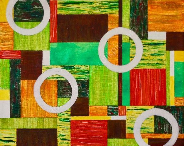 Textural Elements Composition No 6