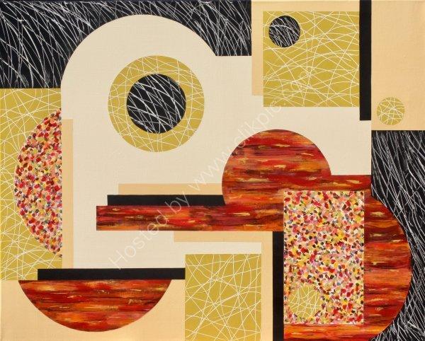 Textural Elements Composition No 3