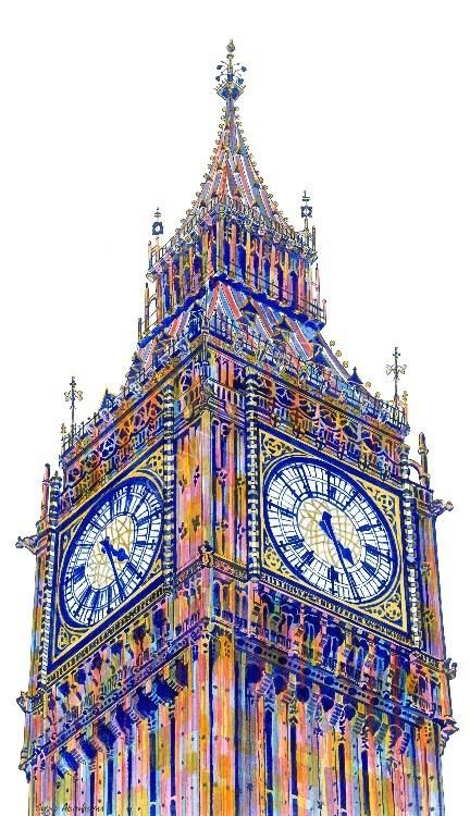 'Twenty-Six past Four' London.