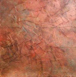 Circular fire abstract