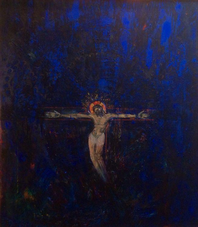 Blue Crucifixion