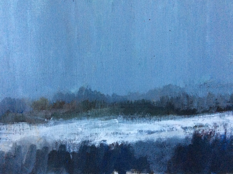 Stone, December Snow
