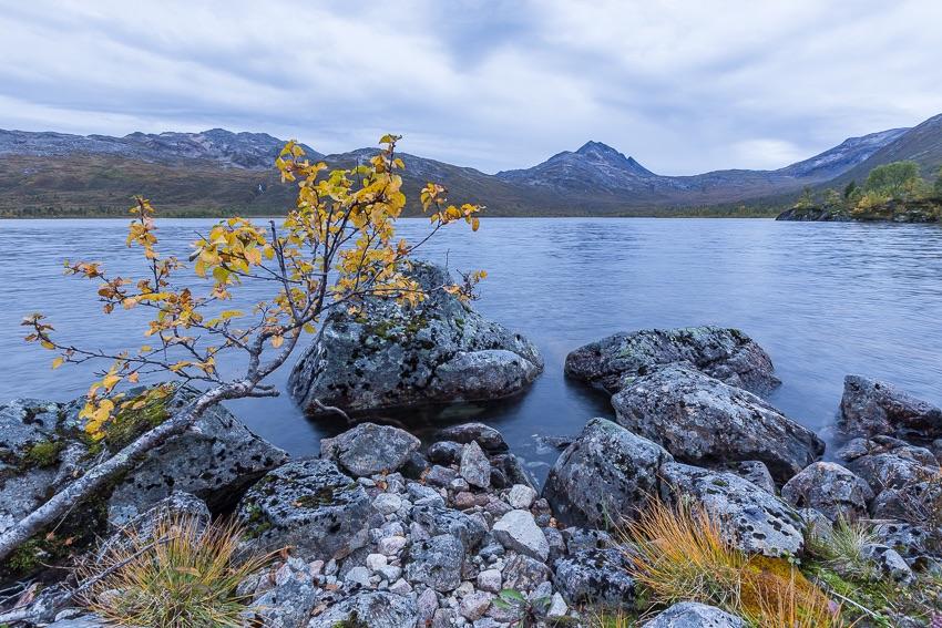 Lake Aandervatnet, Senja