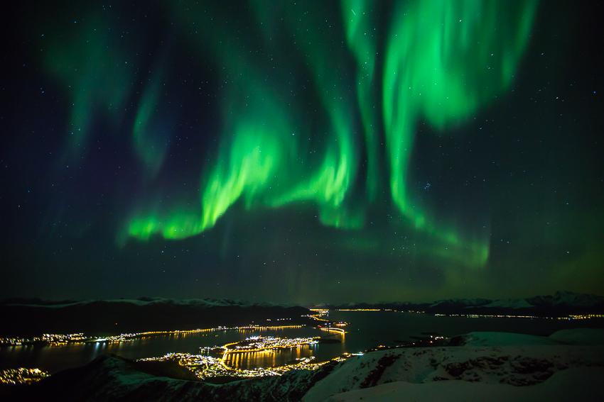 Aurora borealis above Stokmarknes1
