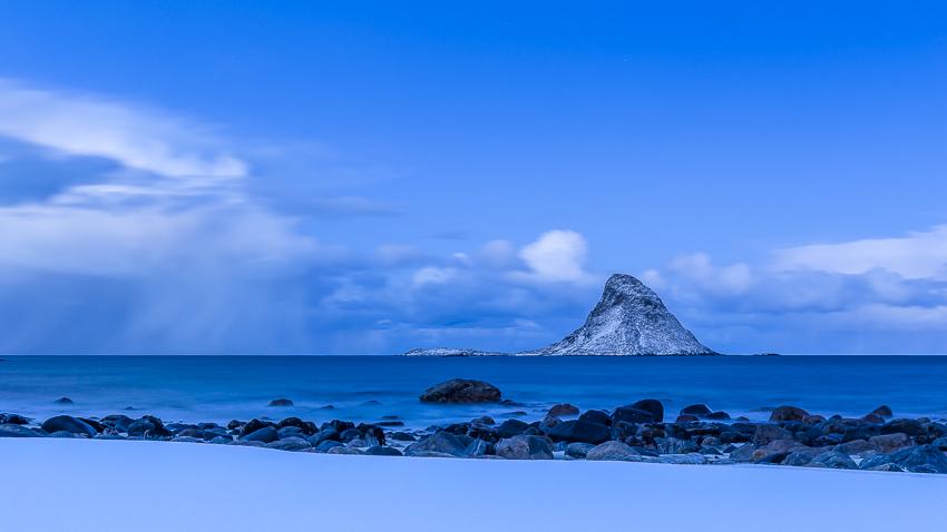 Bleik Island early morning January 2016