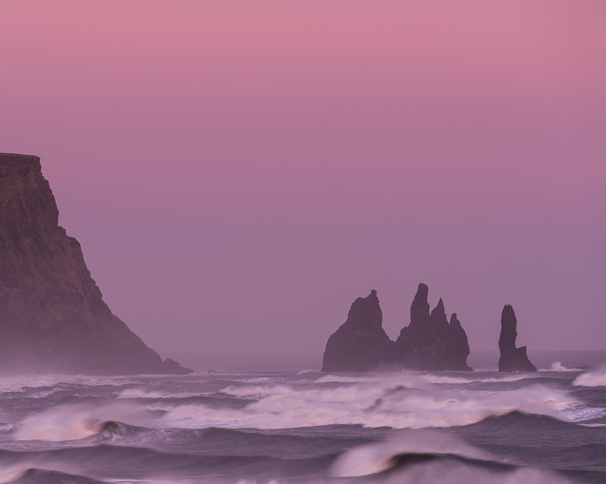 Sunset, Reynisdrangar