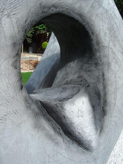 Garden sculpture (details)