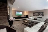 Converted garage, stylish TV room 2014