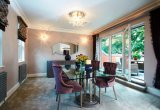 Modern dining room with classical apeal 2014