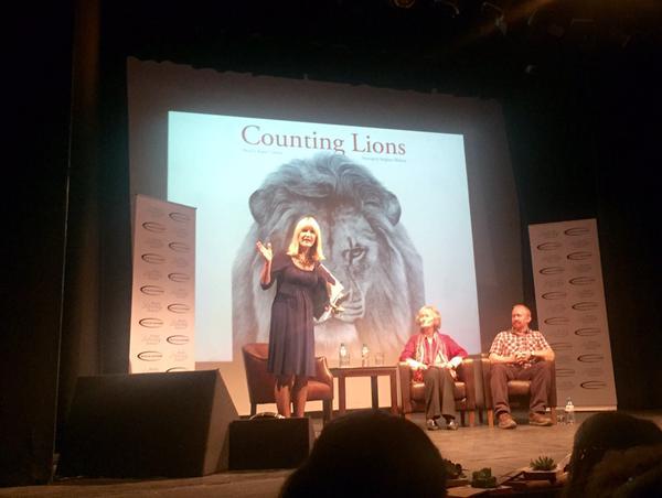 Talk at Henley Literature Festival with Virginia McKenna
