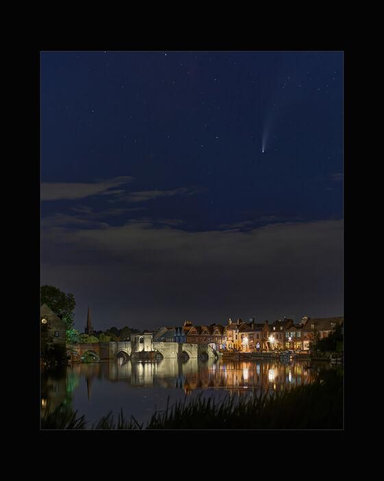 Comet Over St Ives (#101)