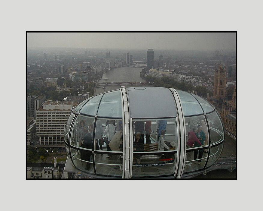 Rain Approaching the London Eye (#60)