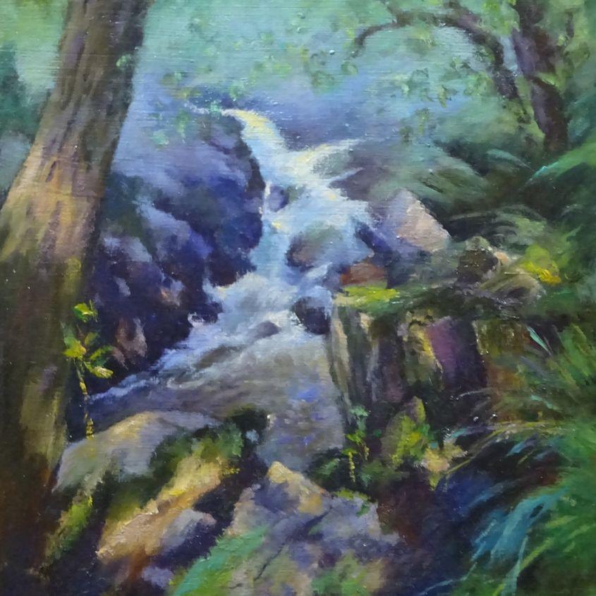 Tumbling stream Glen Nevis