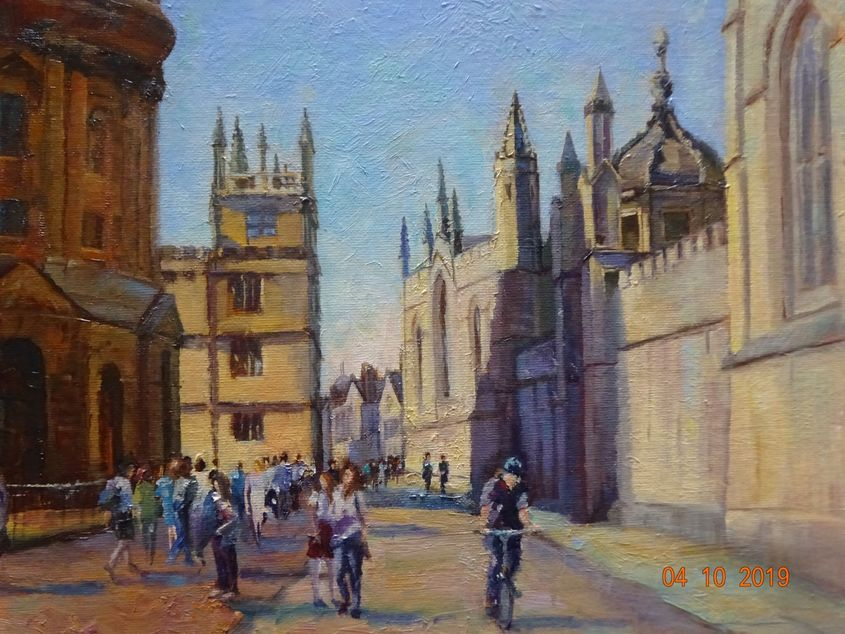 Early Oxford morning