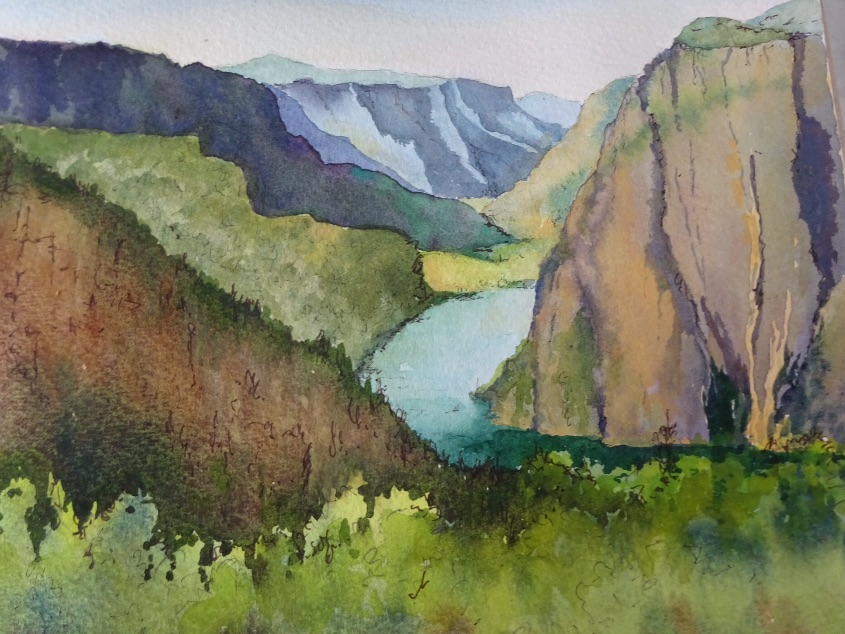 From above the Fjord SOLD