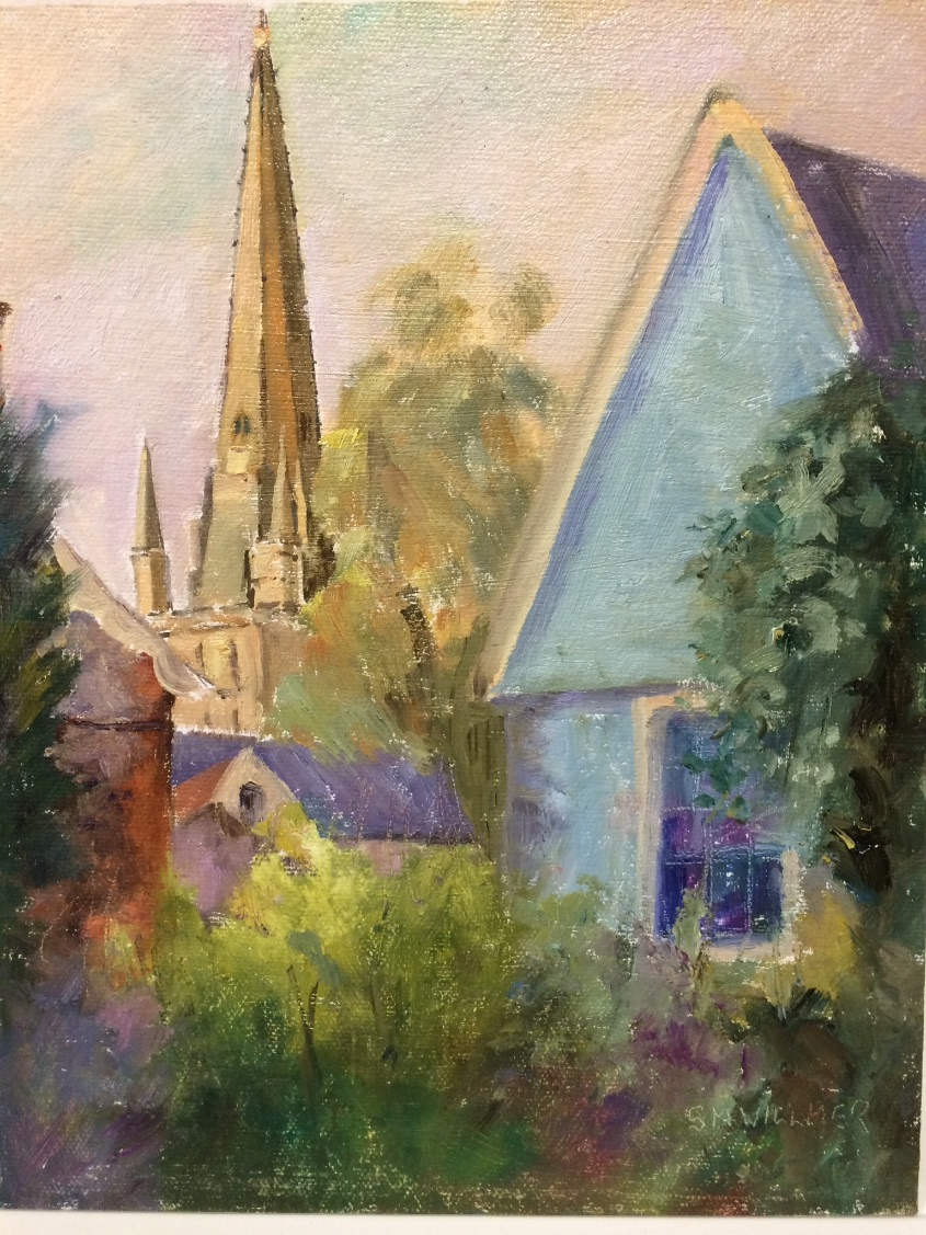 The Spire Norwich Cathedral SOLD