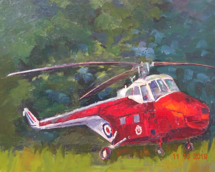 Helicopter - Flixton Aircraft Museum