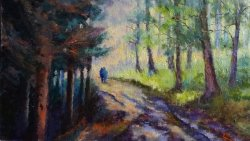 Through the Trees. SOLD