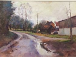 After the Rain. SOLD