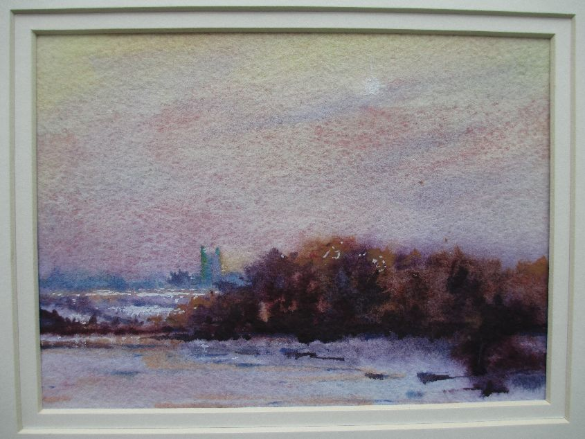 Frost On The Flood Plain.  SOLD