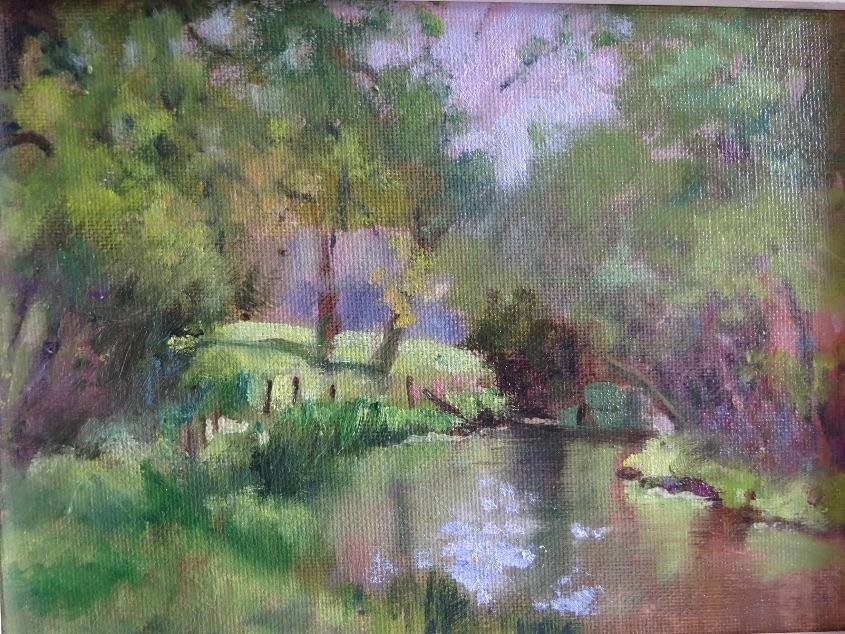 In the Water Garden SOLD