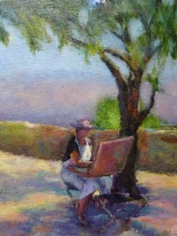 Artist in Provence SOLD