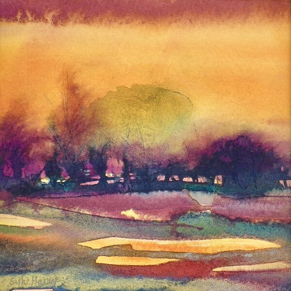 East Anglian Sunset 2 SOLD