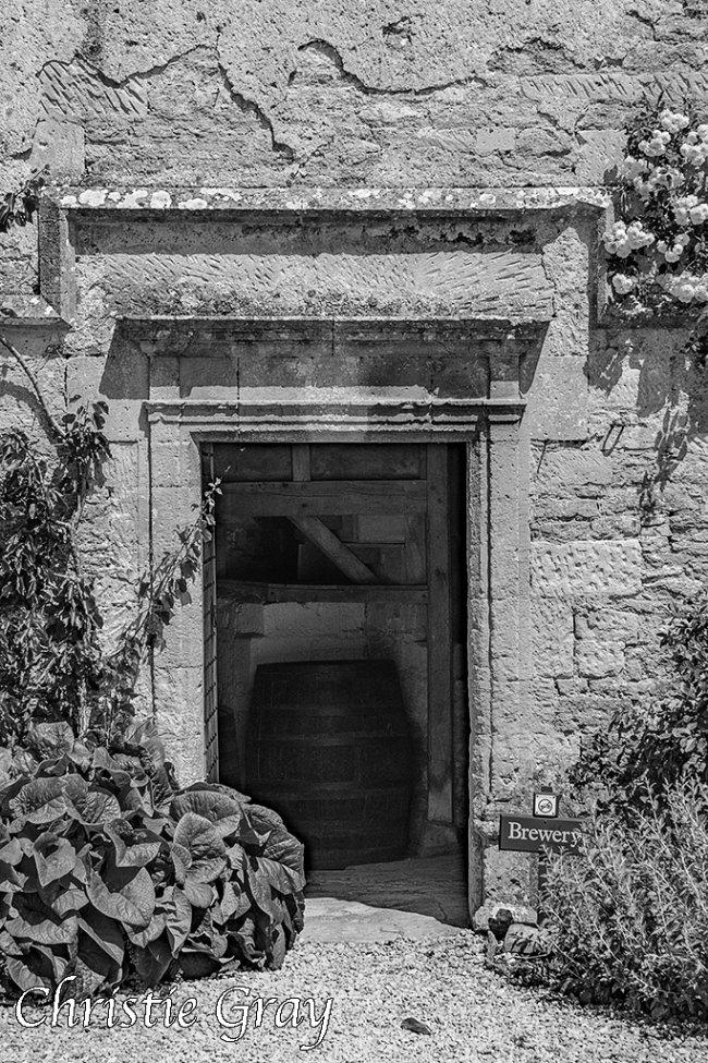 Brewery entrance