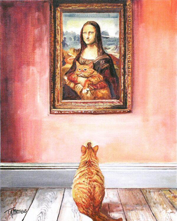 Mona lisas Kitty