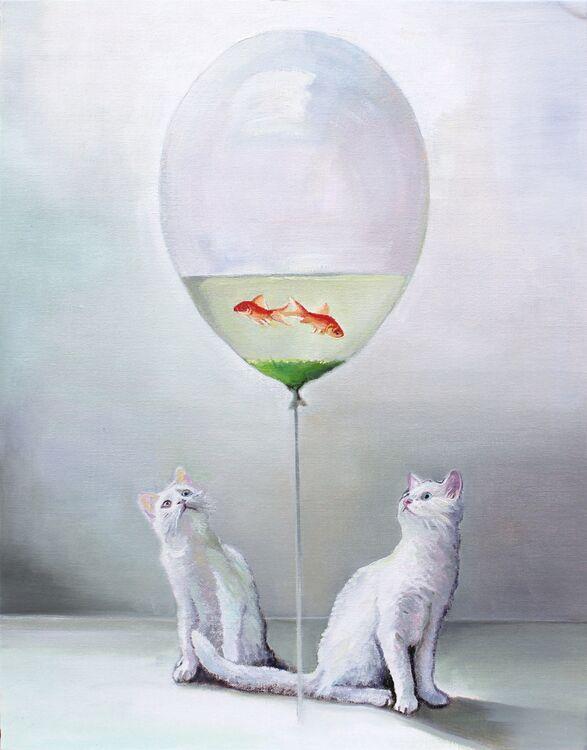 Fish Balloon Kitty's