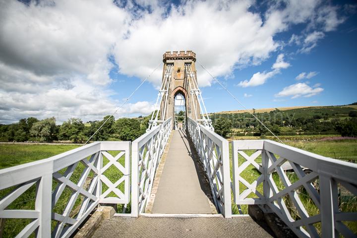 Gattonside Suspension Bridge