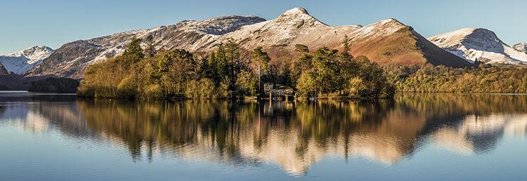 April Snow Derwent Water