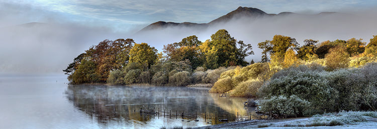 Autumn Mist Derwent Water